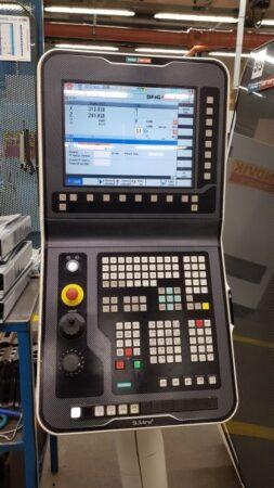 Dvouosý univerzální soustruh s poháněnými nástroji a C osou CTX 450 ecoline