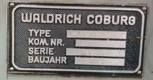 Soustruh na kuličkové šrouby WALDRICH COBURG 16 GSL 18-90